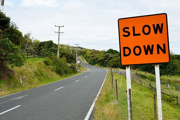 'National Slow Down Day' provides a spurt for road traffic safety